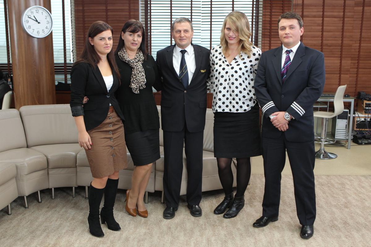 kpt.Tadeusz Wrona z rodziną